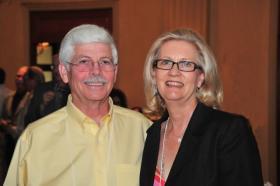 Linda Ford and husband