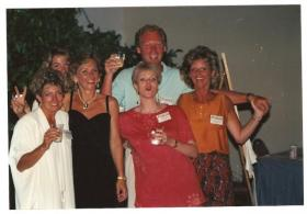 Jim and the girls at our 20th Reunion
