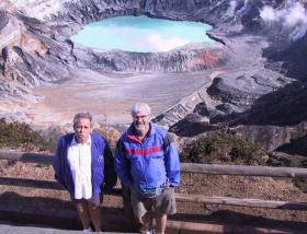 Bill and Ron vs. the Volcano