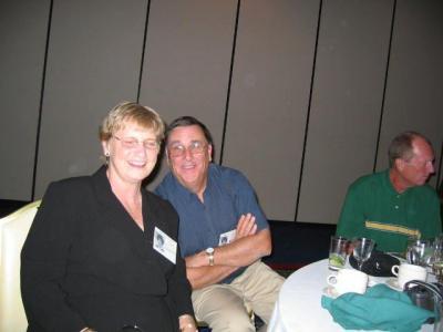 Jane and husband plus Jim Emerson