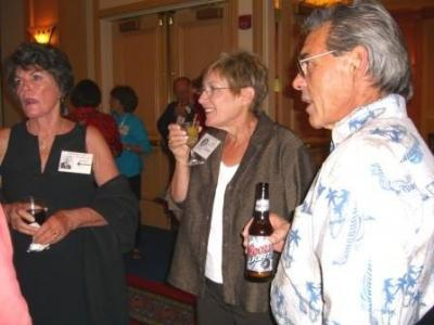 Gloria and Bruce with Nancy Westmoreland