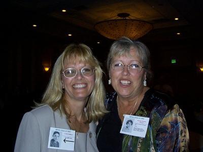 Linda DeMayo and Kendy Snyder