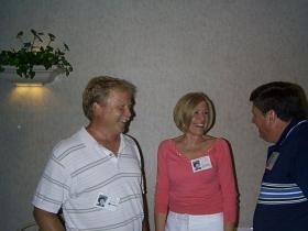 Sandy Steele and John Ferguson