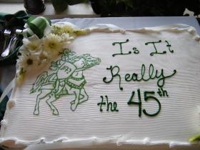 45th Cake